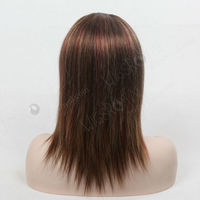 brazilian human hair highlighted full lace crazy color wigs