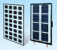 2015 popular product double glass pv solar module 48v solar panel