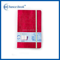 Decorate Leather Notebook Cover Design With Deboss Logo