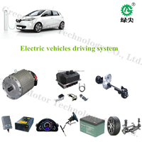 low price 72v 6kw electric car hub motor 5kw driving kit