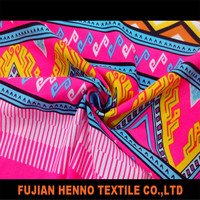 African custom printed fabric,nylon spandex waterproof fabric textile