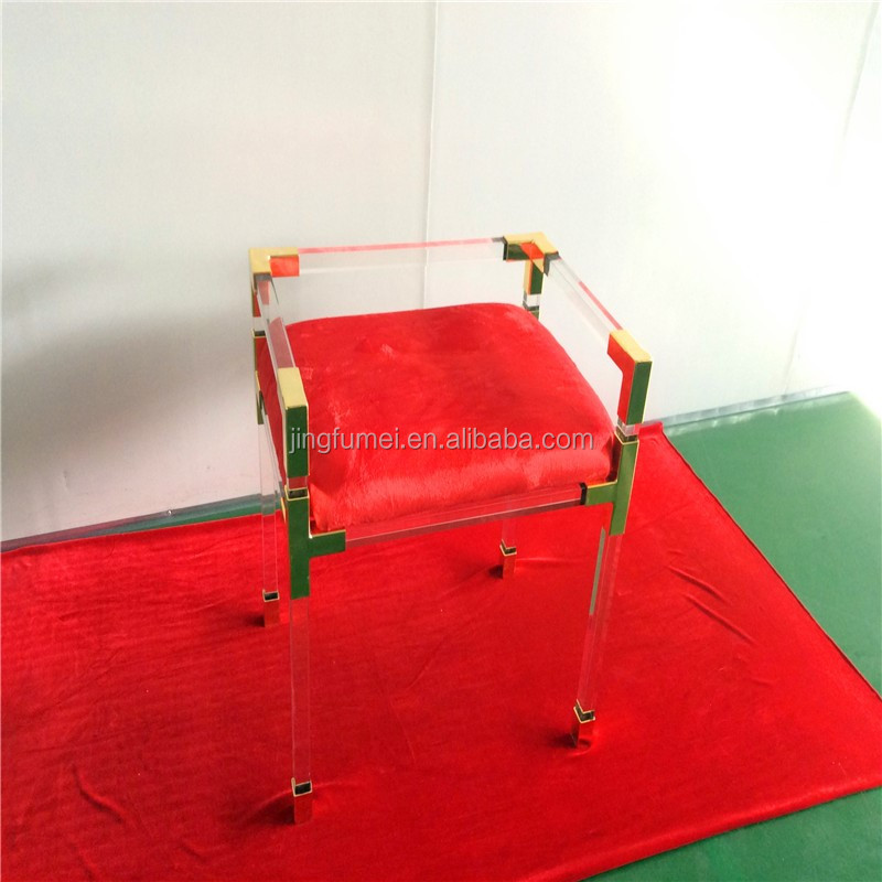Acrylic modern plastic chairs wholesale