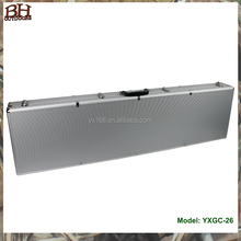 Aluminum Framed ABS Gun Case Hard Locking Carry On Gun Case