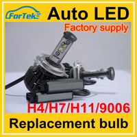 Led Automobile Motorcycle 80w Led Headlight