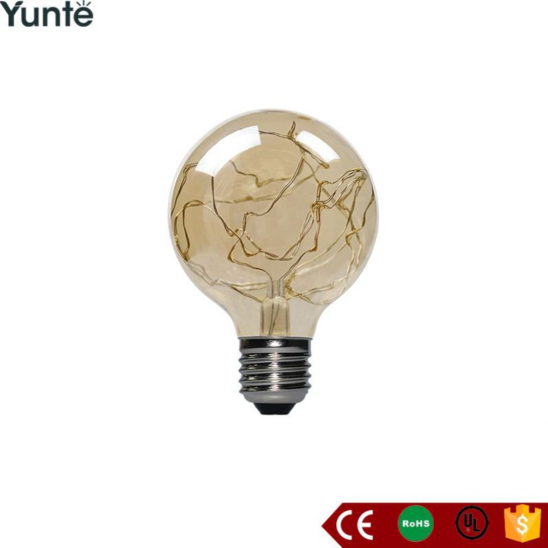2017 new product moroccan brass lantern lamp filament bulb products led copper wire light from China factory