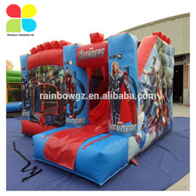 Funny inflatable cartoon bouncy castle,playing inflatable bouncer ,toys inflatable jumping castles bouncer