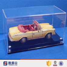 Acrylic Material plastic display cases for model cars