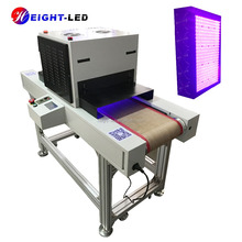 HTLD CE & RoHs customized high power uv curing tunnel uv dryer machine led uv dryer with cunveyor belt