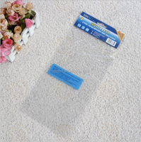 cheap transparent header opp plastic bag with card for jewelery