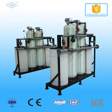 Dia600mm FRP resin tank Ion exchange water softener machine,resin regeneration Water softener,