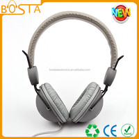 TPE cable fancy stylish great quality simple gray headphone pc