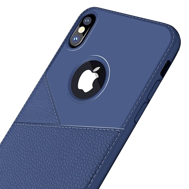 Senlancase Shockproof soft business style leather 결 쉘 soft tpu back case cover 대 한 iphone xs max 다루고 slim 고무 케이스