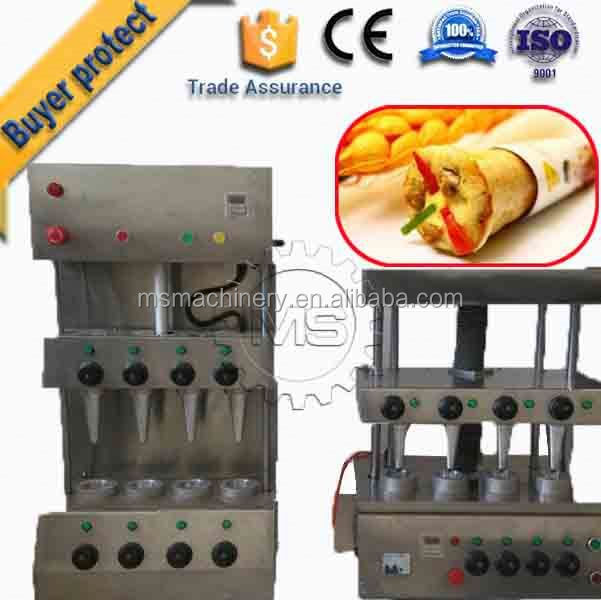 Automatic cone pizza and umbrella moulder machines production line
