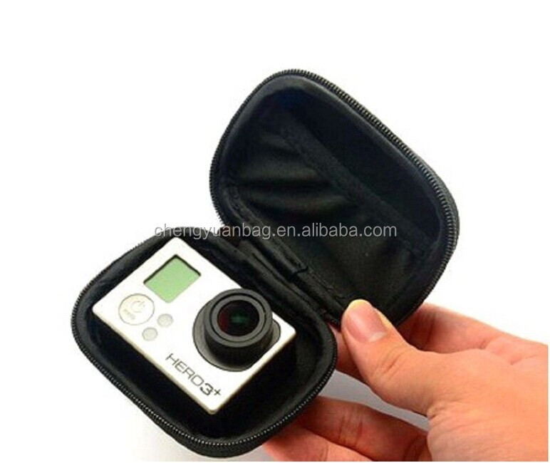 High quality go pro eva box/custom eva case for earphone and phone accessories