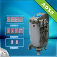 vertical 635nm diode laser machine for weight loss