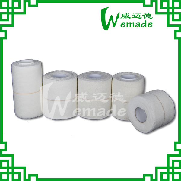 Well Breathable Flexible Elastic Adhesive Bandage for Medical Adhesive Made In China