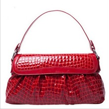 D70876H 2015 Europe spring and summer hot sell lady crocodile handbag