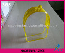 HOT selling PVC bag with zipper closure MS-130 pvc bag