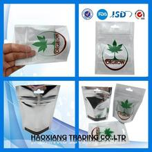 Tobacco packing bag/Foil Lined Zipper bag for Tobacco