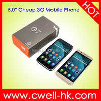 H-Mobile G7 Dual SIM Card WCDMA Low Price 3G Android Phone outdoor dual sim cell phone