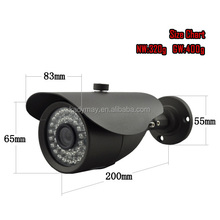 "HOT BEST !!! 1/3""Pixel CMOS 30M IR Waterproof 600TVL CCTV Camera"
