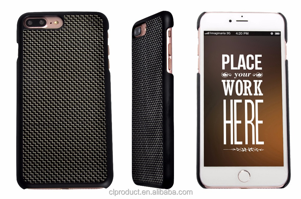 Luxury Durable Carbon Fiber Case For Phone