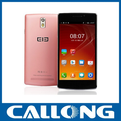 Brand mobile phone 5.5inch Elephone G5 MTK6582 Quad Core Android 4.4 cellphone 13MP bluetooth 4.0 3G WCDMA smart