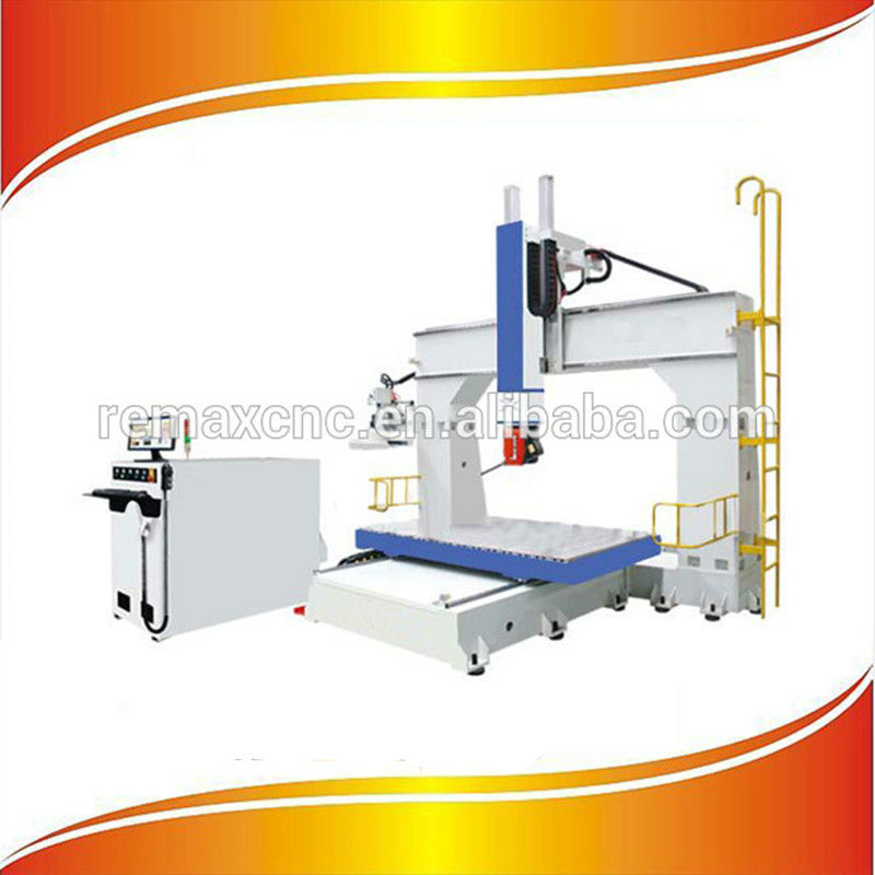 Hot sale 5 Axis Woodworking CNC Router, 5 Axis CNC Router Wood kit