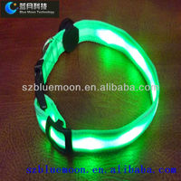 high quality Glowing led dog collar