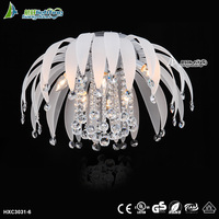 Unique Modern Crystal lighting Fixture ceiling light design for home HXC3031-6