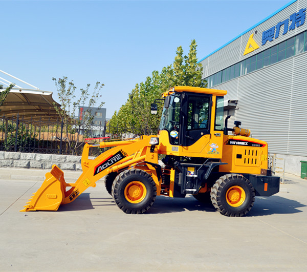 1.2t cheap small wheel loader with snow blowers