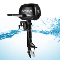 4 Stroke 5hp Chinese outboard motor similar as yamahas outboard motor with CE Certificate