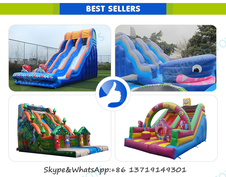 NEVERLAND TOYS Inflatable water slides with pool, inflatable slide ,Slip n Slide Inflatable Slide for sale