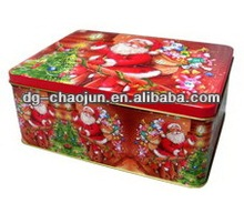 Popular Christmas Gift Candy Box / Personalized Candy Tin Box