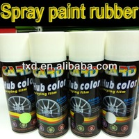 GAR Multi-Color Spray Rubber Paint for Cars Coating Your Wheel; car paint rubber spray for car wheel decoration