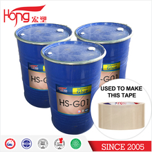 60% high solids glue Self - crosslinking pure acrylic resin