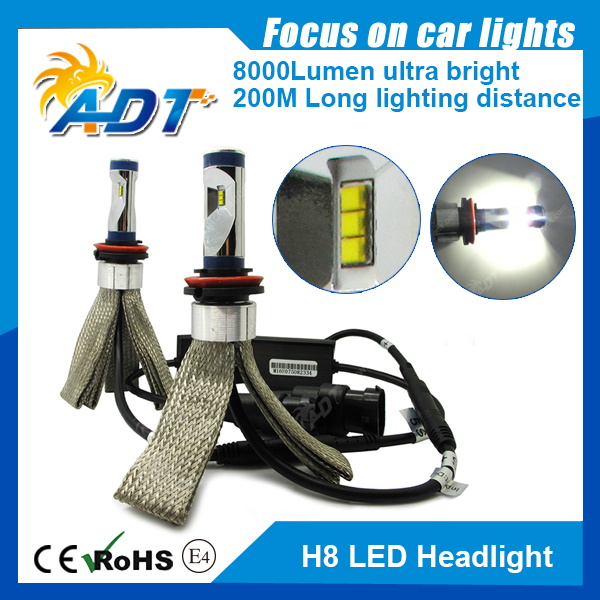 G5NS H8 Luxeon ZES LED high power led headlight kit h8 h9 h11 h4 h15 led headlight