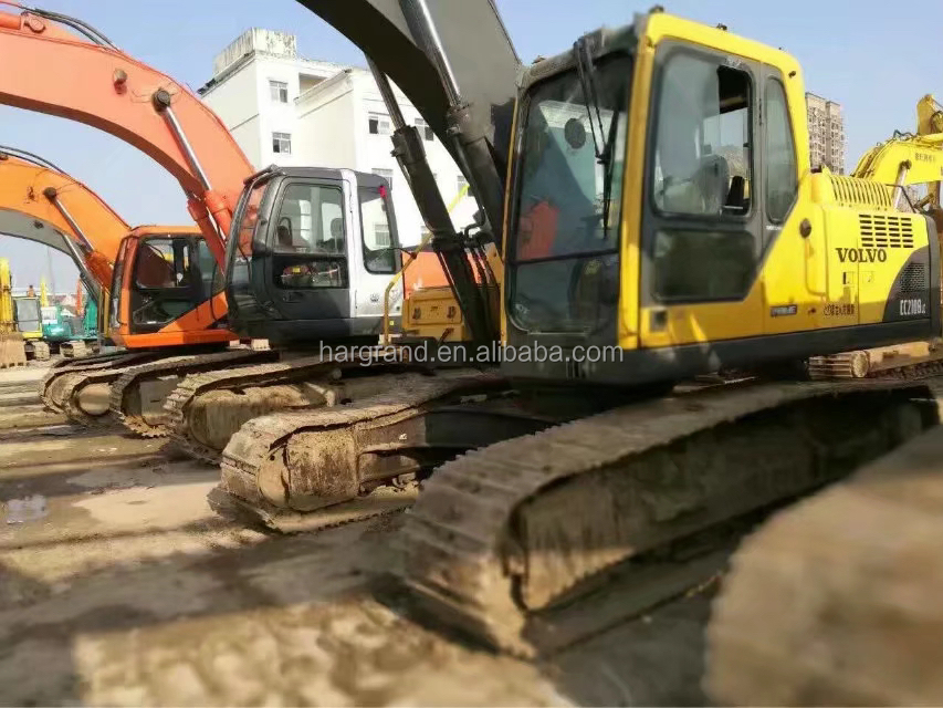 Used Construction Machinery VOLVO EC210BLC Excavator,VOLVO Excavator 21T EC210BLC Building Machines for sale