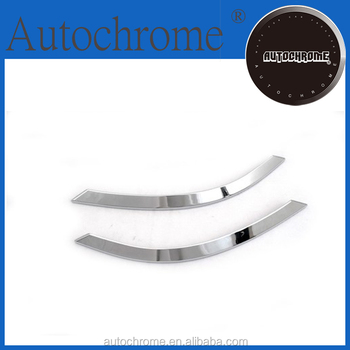 China wholesale car accessory chrome rear fog light trim for BMW X5 F15 2014 Up