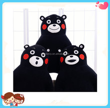 Custom Cheap Cute Japanese Animation Kumamon Stuffed Mascot Bear Plush Toys