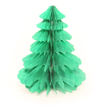 christmas tree tissue paper honeycomb ball for Decoration