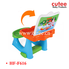 High Quality Eco-friendly PP Non-toxic Tasteless Plastic Modern Children Kids School Study Desk And Chair