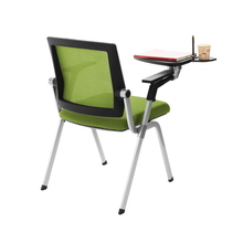 Bifma new design mesh meeting chair/writing tablet chair