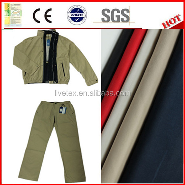 classic casual fabric carbon peach finish for jacket