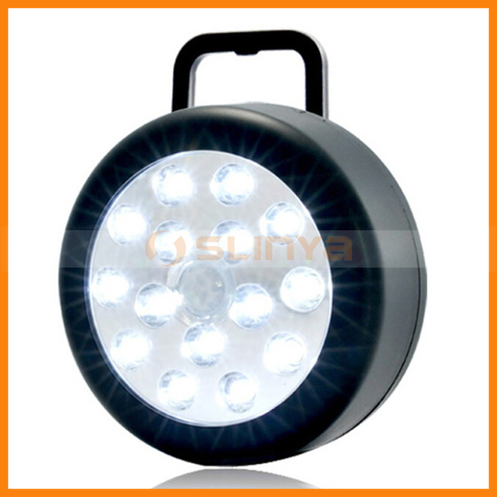 15 LED Lamp with Magnet Umbrella Wall Tent Hanging Camping Light