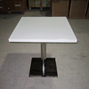 acrylic solid surface restaurant coffee table and chairs