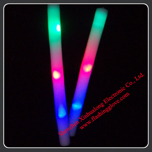 LED Flash Magic Foam Stick Baton