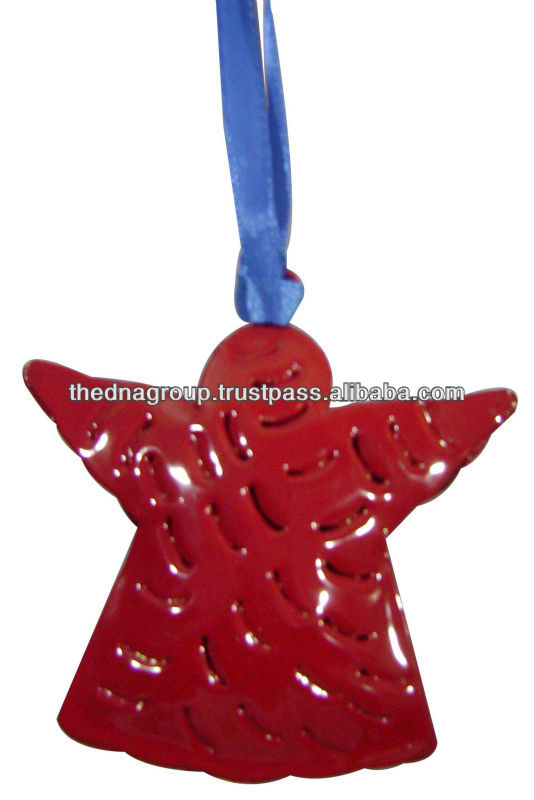 Christmas hanging Red Star decoration
