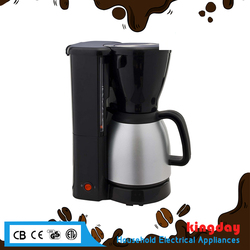 2017 BSCI with certification food grade healthy material good quality electric vaccum coffee maker machine
