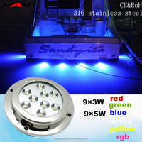 50,000hrs Life Time C.REE LED Ocean Accessories Underwater Boat Light